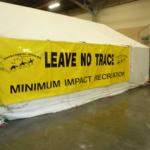BCHO LNT Education Display Tent
