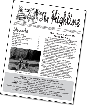 The Highline Newsletter