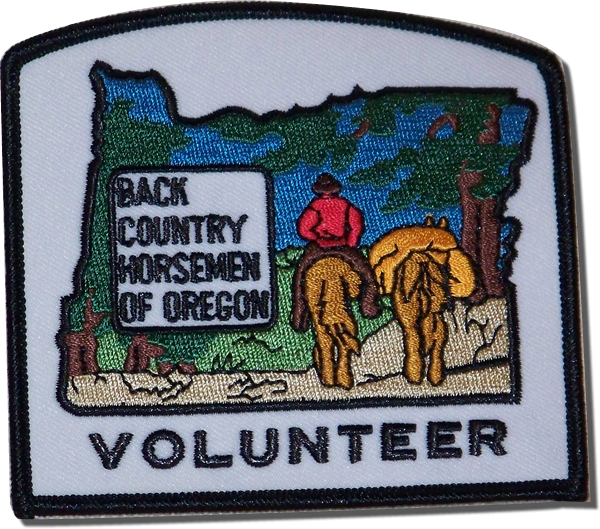 BCHO Volunteer Patch - $7.50