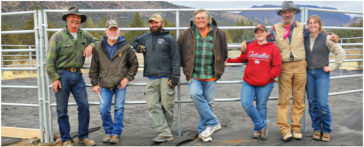 BLM Gives Thanks to Steens BCH Volunteers
